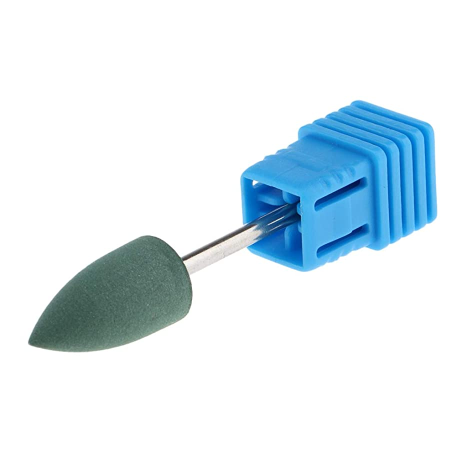 かんがい予見する狂うF Fityle 3サイズ 電動ネイルアート ドリルビット 研磨研削バフ 研磨ヘッド - 02