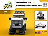 Nissan Titan XD with wheels tracks (Instruction only): MOC LEGO (English Edition)