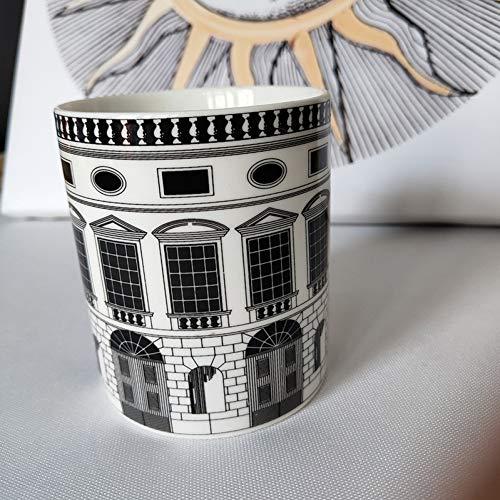 Fornase ttiqk Fornasetti Kaars Houders Pen Container Home Decoratie Prachtige Keramische pot Cup Bloempotten Borstel Pot Penholder Kaars Potje