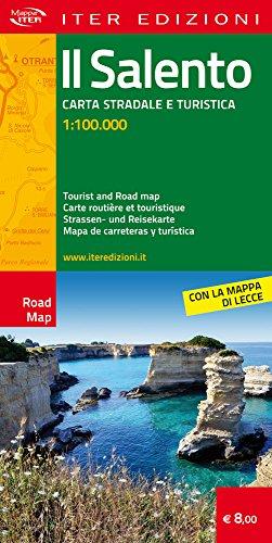 Il Salento. Carta stradale e turistica 1:100.000. Ediz. multilingue (Carte stradali)