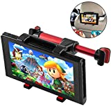 Car Headrest Mount for Nintendo Switch, Megadream Adjustable Stand Car Seat Tablet Holder for Switch Consoles