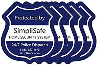SimpliSafe Window Decals Pack of 5