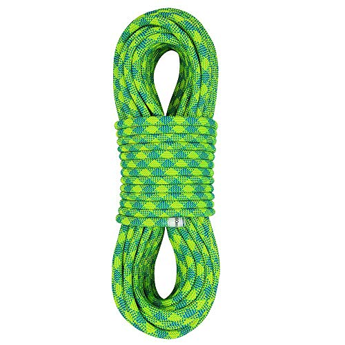 X XBEN 10.5 mm UIAA Dynamic Climbing Rope 60M(200ft), Safety Nylon Kernmantle Rope for Rock Climbing, Tree Climbing, Ice Climbing, Mountaineering, Rappelling, Rescue and Arborist Climbing