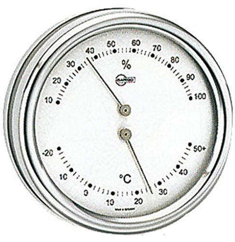 Barigo Thermo/Hygromètre Orion Cadran argenté