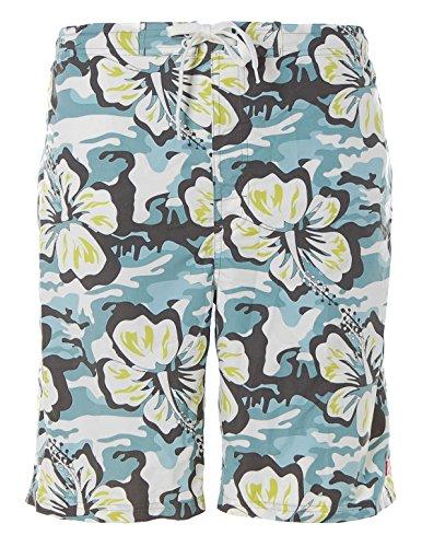 Shiwi Badeshorts Shorts Badehose Boardshorts in blau Bedruckt XL