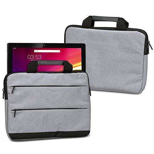 UC-Express Laptophülle Schutzhülle für Hannspree HANNSpad Titan 2 13,3 SN14TP1B Sleeve Tasche Notebooktasche Schutzcase, Farbe:Grau