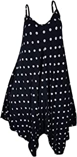 LIKESIDE Dress Summer Casual Fashion Sexy Strap dot Print Leaking Back Dresses