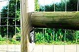 Pfostenträger für runde Holzzaunpfosten, Zaunpfahlhalterung, Schwarz