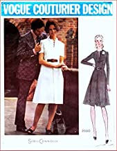 Vogue Couturier Design 2660 Misses'Semi Fitted A-Line Dress Vintage Sewing Pattern Check Listings for Size
