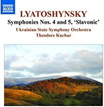 Lyatoshynsky: Symphonies Nos 4 & 5 [Theodore Kuchar] [Naxos: 8555580] by Ukrainian State Symphony Orchestra (2014-12-17)
