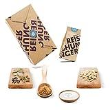 Reishunger Indisch Curry Box (5-teilig, für 2-4 Personen) Original Zutaten für indisches Korma Curry – Perfekt auch als Geschenk