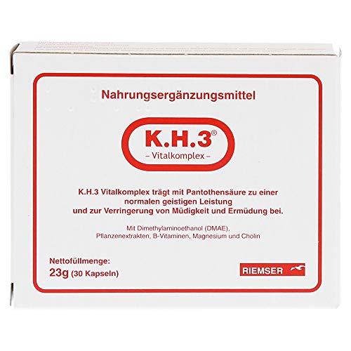 K.H.3 Vitalkomplex Kapseln, 30 St. Kapseln
