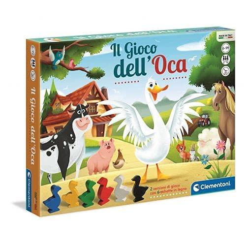 Clementoni - Dell'Oca Gioco Da Tavolo Colore Multicolore, 12927