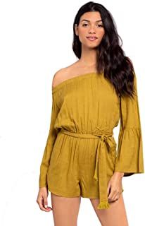 LSpace Womens Miranda Romper Cover-Up