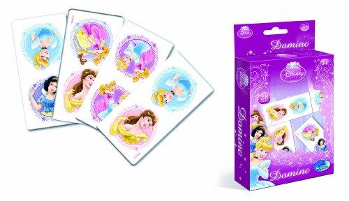 Modiano Disney - Dominó, diseño de Princesas Disney [Importado de Italia]
