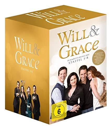 Will & Grace - Die komplette Serie (Neuauflage) (32 DVDs + Bonus-DVD) (exklusiv bei Amazon.de)