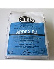 Ardex R1 renovatiepachtel 25 kg met ARDURAPID-effect. Bevat cement. Voor het gladmaken en plamuren van wand- en plafondoppervlakken in renovatie en nieuwbouw.