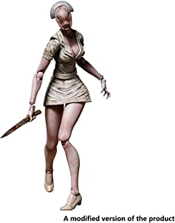 Huangyingui Silent Hill 2: Bubble Head Nurse Action Figure - Highly Detailed Accurate Sculpt - High 5.9 Inches