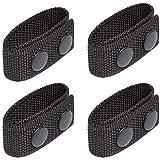 Kyrio - Cintura in nylon con doppio scatto per cintura da 2 e 5,7 cm di larghezza, cintura tattica di sicurezza, accessori militari