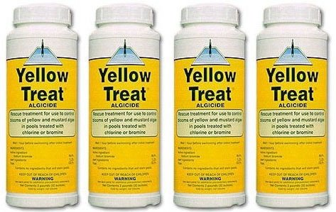 United Chemicals Yellow Treat 2 lb - YT-C12 - 4 PACK