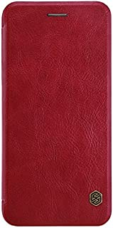 Nillkin Apple iPhone 7 Plus/iPhone 8 Plus Qin Flip Leather Case Cover - Red
