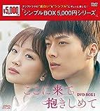 ここに来て抱きしめて DVD-BOX1<シンプルBOX 5,000円シリーズ>[DVD]