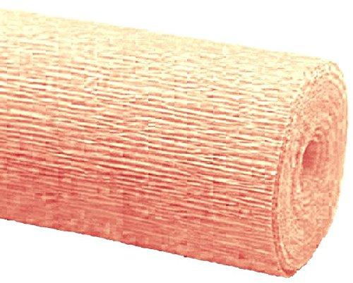 mondial-Fete–crepé salmón en Rollo 0,5x 2,5m