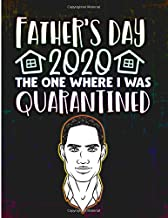 Father's Day 2020 The One Where I Was Quarantined: An Adult Coloring Book with Fun, Easy, and Relaxing Colouring Pattern Pages