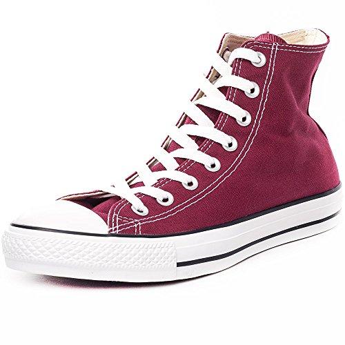 Converse Chuck Taylor All Star, Unisex-Erwachsene Hohe Sneakers, Rot (Weinrot), EU 44 EU