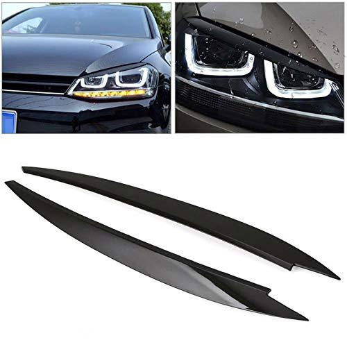 Car Headlight Eyebrows, Headlight Eye Lid, Eyebrow Cover, Eyelids Covers,...