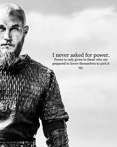 Vikings a Historical Drama TV-Serie Ragnar Lothbrok, Lagertha, Rollo, Siggy Poster 30,5 x 45,7 cm Zolto Poster