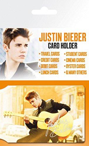 1art1 Justin Bieber, Belieber Tarjeteros para Tarjetas De Crédito (10x7 cm) Y 1x Pegatina Sorpresa