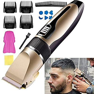 Hair Clipper for Men Professional Cordless Clip...