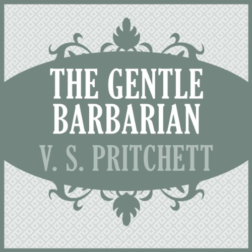 The Gentle Barbarian audiobook cover art