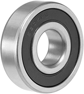 uxcell 6304-2RS Deep Groove Ball Bearing 20x52x15mm Double Sealed Chrome Steel Bearings 1-Pack