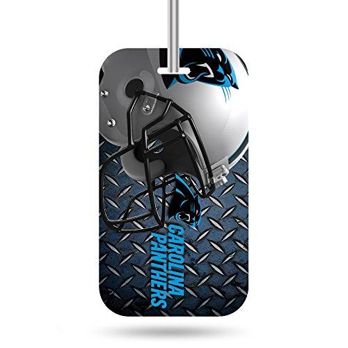 Rico Industries NFL Carolina Panthers Plastic Team Luggage Tag