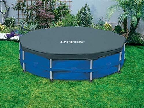Intex - Copertura Protettiva per piscina tubolare, Diametro 3,05 m, Codice dell'Articolo: 28030