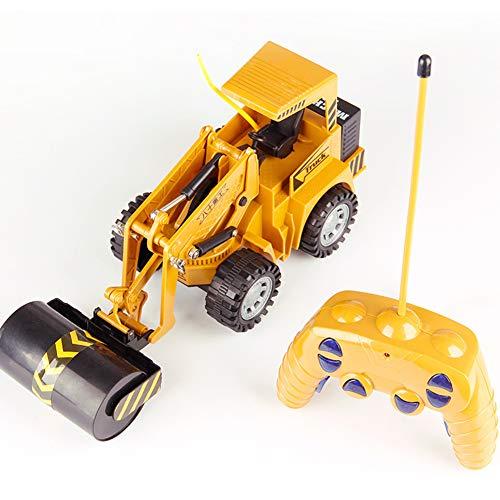 TOY Camión de perforación de Control Remoto RC Camión Grúa Bulldozer Excavadora...