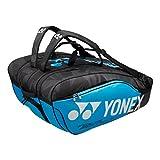 Yonex Pro Series Sac de raquette (9Series, différentes tailles), Infinite Blue, 12 Racket