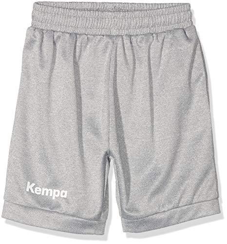 Kempa Kinder Core 2.0 Shorts, dark grau melange, 140 (XXS)