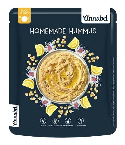Annabel - Hummus pronto da preparare, al naturale, 250 g, confezione da 7