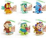 Serie Creatures - Figuras de Dibujos