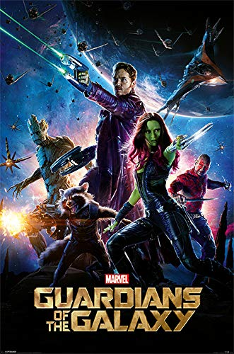 Marvel Comics Guardianes de la Galaxia Póster 61x91,5cm Producto Oficial