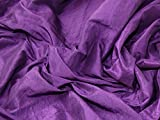 Minerva Crafts Crushed Strukturierte TAFT Kleid Stoff