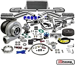 GT45 13PC T4 TURBO KIT+MANIFOLD+INTERCOOLER CHEVY SMALL BLOCK LSX CAMARO LS1