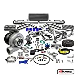 GT45 13PC T4 TURBO KIT+MANIFOLD+INTERCOOLER CHEVY SMALL BLOCK LSX...