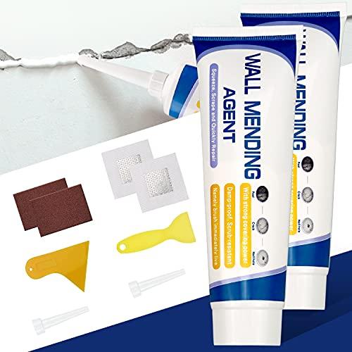 Spackle Wall Repair Kit, 2 Pack Safe Mend Wall Repair with 4