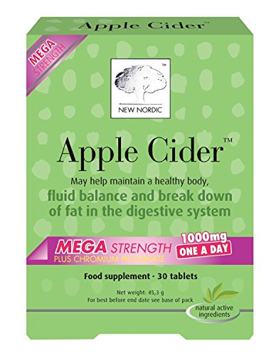 New Nordic Apple Cider Mega One a Day Tablets, Pack of 30