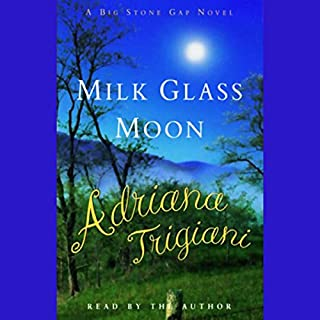 Milk Glass Moon audiobook cover art