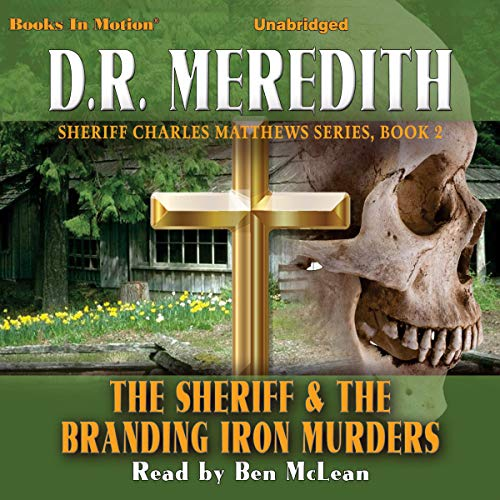 The Sheriff and the Branding Iron Murders audiobook cover art